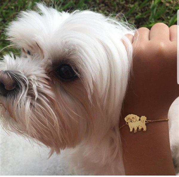 Pulseira Personalizada com Cachorro