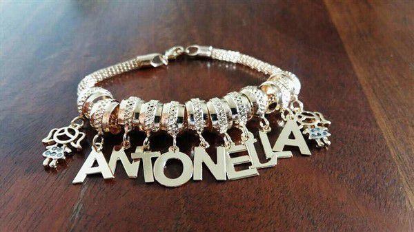 Pulseira Personalizada Pandora (PERSONALIZE SEUS BERLOQUES)