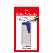 Apontador Depósito Cores Sortidas Blister Faber Castell