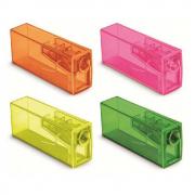 Apontador Depósito Neon Cores Sortidas Faber Castell
