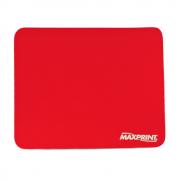Base para Mouse Maxprint Liso Vermelho 60356-4