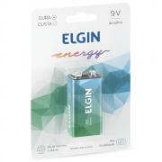 Bateria Elgin 9V Alcalina