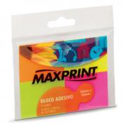 Bloco Adesivo Maxprint 38 X 50mm com 4 Cores Neon 74170-5