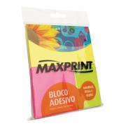 Bloco Adesivo Maxprint Kit Sortido Neon com 50 Folhas 74344-0