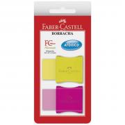Borracha Plástica Tk Pequena Neon Blister 2 Unidades Faber Castell