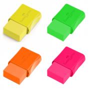 Borracha Plástica Tk Pequena Neon Faber Castell