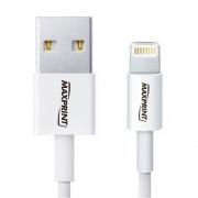Cabo USB Lightning para Iphone/Ipod/Ipad Branco Maxprint