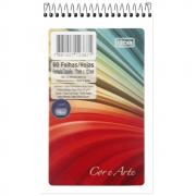 Caderneta de Anotações Tilibra Espiral Capa Flexível Cor e Arte 60 Folhas