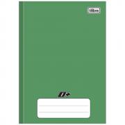 Caderno 1/4 Tilibra Brochura Capa Dura 48fls D+ Verde