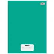 Caderno Universitário Tilibra Brochura Capa Dura 96 Folhas Verde