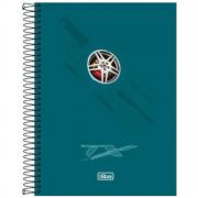 Caderno Universitário Tilibra Espiral Capa Dura 1 Matéria 96 Folhas TX