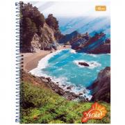 Caderno Universitário Tilibra Espiral Capa Dura 1 Matéria 96 Folhas Verão