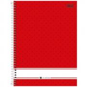 Caderno Universitário Tilibra Espiral Capa Dura 10 Matérias 200 Folhas Académie Feminino