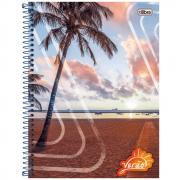 Caderno Universitário Tilibra Espiral Capa Dura 16 Matérias 320 folhas Verão