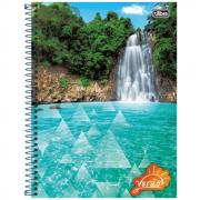 Caderno Universitário Tilibra Espiral Capa Dura 20 Matérias 400 Folhas Verão
