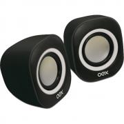 Caixa de Som Round SK-100 preto/branco OEX