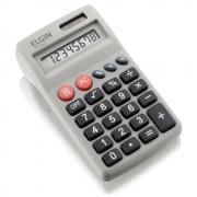 Calculadora de Bolso Elgin 8 Dígitos CB1483 Cinza