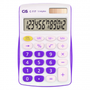 Calculadora de Mesa CIS 12 Dígitos C-117 Lilás