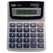 Calculadora de Mesa CIS 12 Dígitos Calk C-214