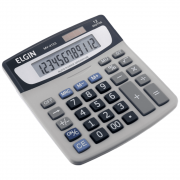 Calculadora de Mesa Elgin 12 Dígitos MV-4123 Cinza