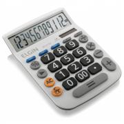 Calculadora de Mesa Elgin 12 Dígitos MV4132 Grande Branca