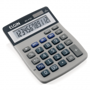 Calculadora de Mesa Elgin 12 Dígitos MV-4122 Cinza