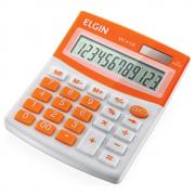 Calculadora de Mesa Elgin 12 Dígitos MV-4128 Laranja