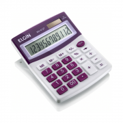 Calculadora de Mesa MV4127 12 Dígitos roxo Elgin