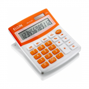 Calculadora de Mesa MV4128 12 Dígitos laranja Elgin