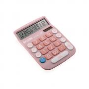 Calculadora de Mesa MV4130 12 Dígitos rosa Elgin