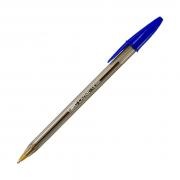 Caneta Esferográfica Cristal Intenso 1.6mm Azul Bic