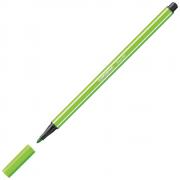 Caneta Hidrográfica Stabilo Pen 68/43 Verde Folha