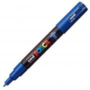 Caneta Uni Posca Ponta 0.7mm PC-1M Azul