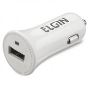 Carregador USB Elgin Veícular 1 Saída 5V 1A