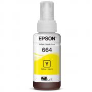 Cartucho Epson Refil de Tinta 664 Amarelo T664420AL