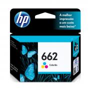 Cartucho HP 662 CZ104AB colorido