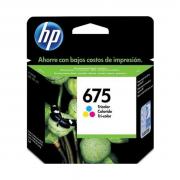 Cartucho HP 675 CN691AL colorido