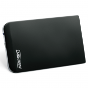 """Case Maxprint para HD SATA 2.5"""" com Conexão Externa USB Preto 60577-2"""