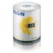 CD-R 52x 700 MB / 80 MIN Bulk com 100 unidades Elgin
