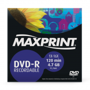 DVD-R 16x 4.7 GB / 120 MIN Envelope Maxprint