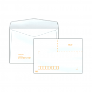 Envelope Carta 114x162mm branco 75g c/rpc c/1000un COF 032 Scrity
