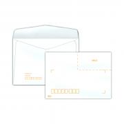 Envelope Carta 114x162mm branco 75g c/rpc c/10un COF 132 Scrity