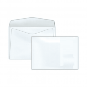 Envelope Carta 114x162mm branco 75g s/rpc c/10un COF 130 Scrity