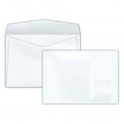 Envelope Carta Scrity 114x162mm Branco 75g S/RPC 10un COF 130