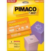 Etiqueta 8296 Ink-jet/Laser Carta 25 Folhas Pimaco