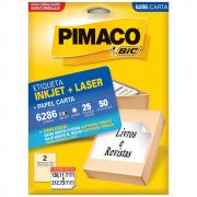 Etiqueta Pimaco 6286 Ink-Jet/Laser 138,11x212,73mm 50un