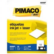 Etiqueta Pimaco 8099F Ink-Jet/Laser 46,56x77,79m 100un