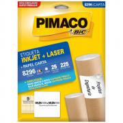 Etiqueta Pimaco 8296 Ink-Jet/Laser 69,85x69,85m 225un