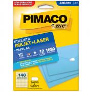 Etiqueta Pimaco A5Q-916 Ink-Jet/Laser 9,0x16,0mm 1680un