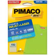 Etiqueta Pimaco A5R-909 Ink-Jet/Laser 0,9mm 2304un